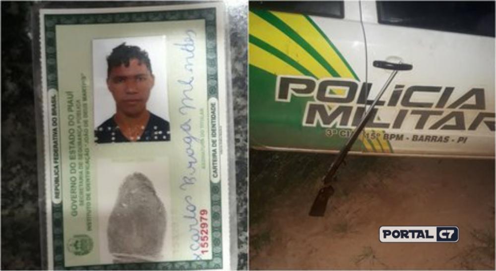 Jovem é preso acusado de matar irmão com tiro no peito no Piauí