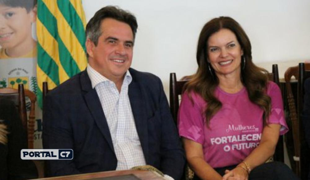 Foto: Laura Moura/Ciro Nogueira e Iracema Portella