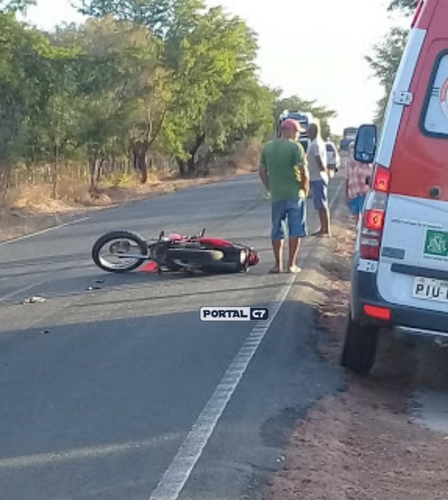 Casal de evangélicos e motociclista sofre acidente no interior do Piauí