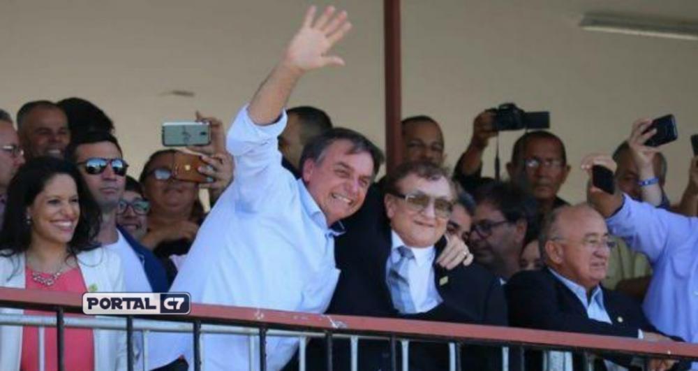 Presidente Jair Bolsonaro e Prefeito Mão Santa