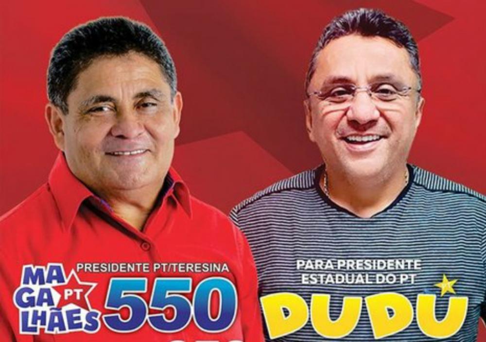 Lançamentos das chapas de Dudu e Cícero/Divulgação