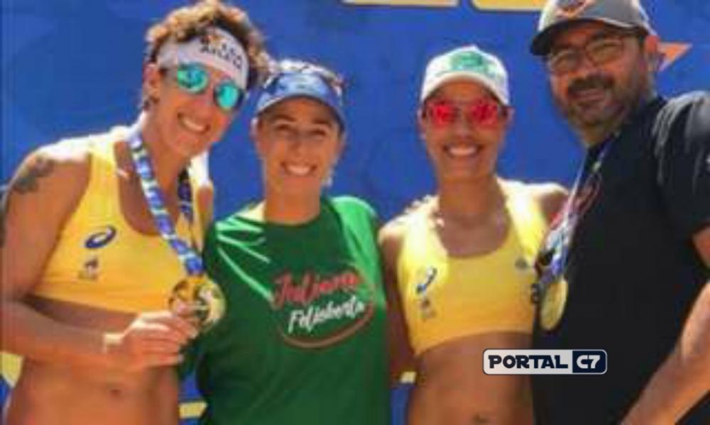 Juliana e Josi fazem dobradinha e levam etapa no Piauí e título do tour. (Divulgação)