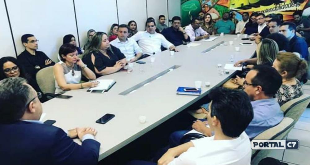 Reunião na APPM