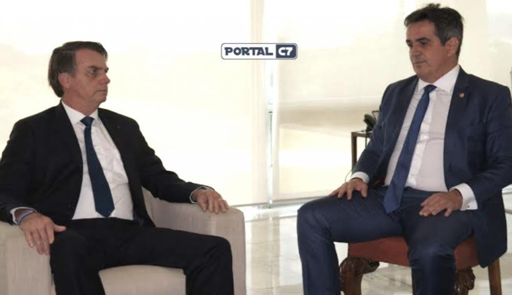 Presidente Jair Bolsonaro e Senador Ciro Nogueira