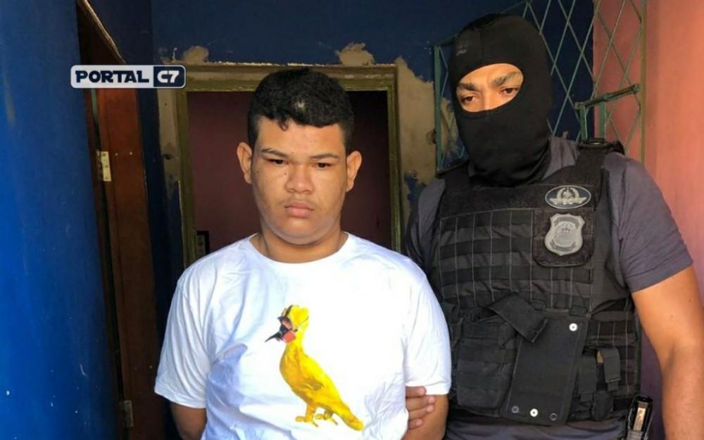 Jovem é preso acusado de avisar traficantes sobre operação em Teresina