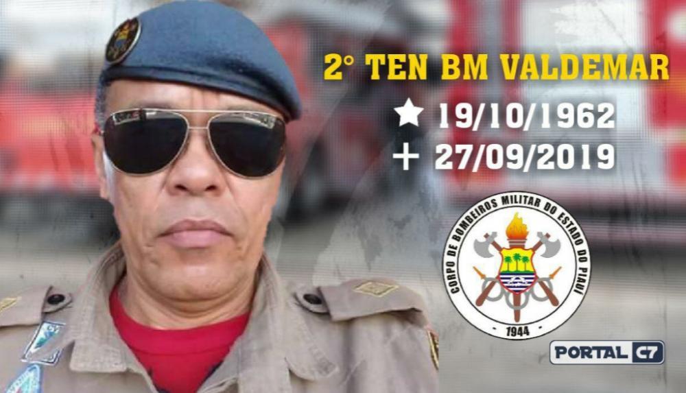 Foto: Divulgação/Bombeiros - Nota de pesar