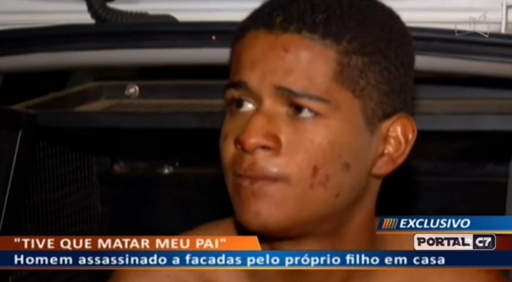 Vítor Gabriel, 18 anos, natural de Corrente no Piauí