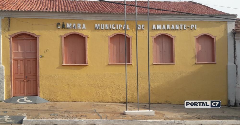 Câmara Municipal de Amarante/Imagem: Portal C7