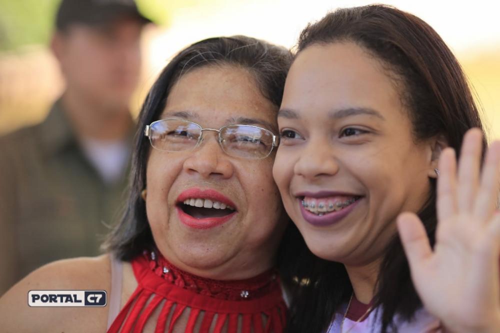 Foto: Marcelo Cardoso/Mãe e filha que vão fazer o Enem juntas