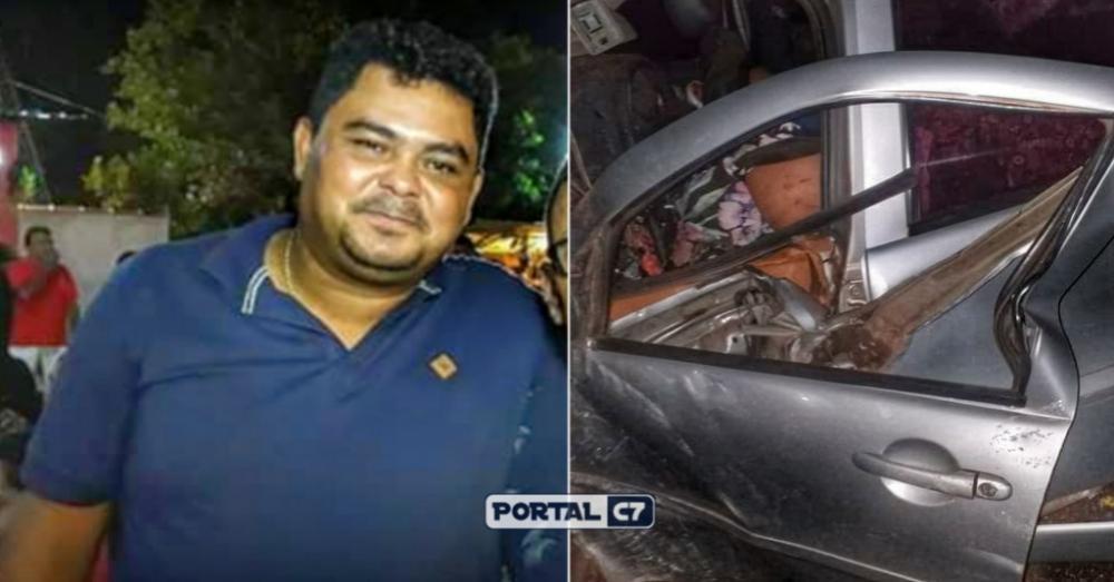 Charles da Chicuta uma das vítimas do acidente