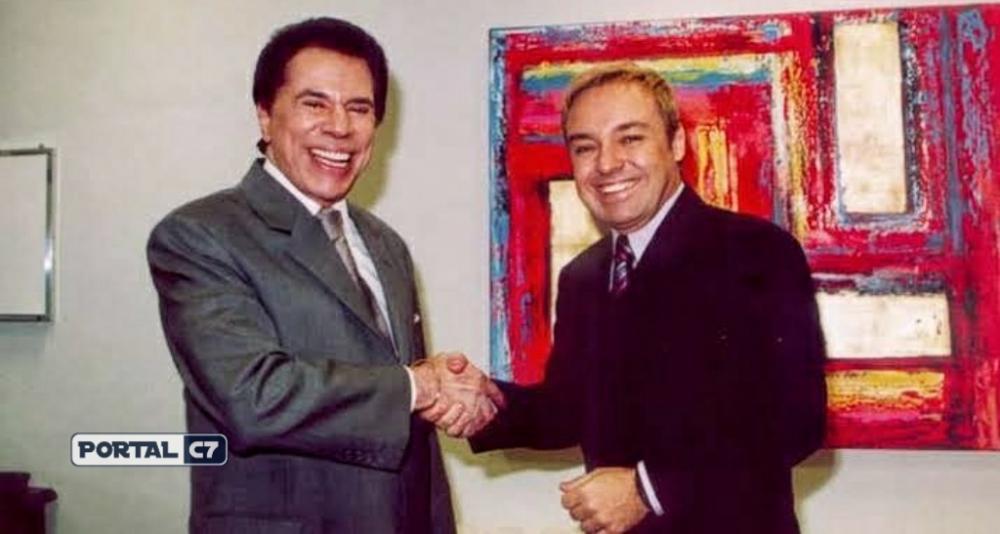 Silvio Santos e Gugu Liberato
