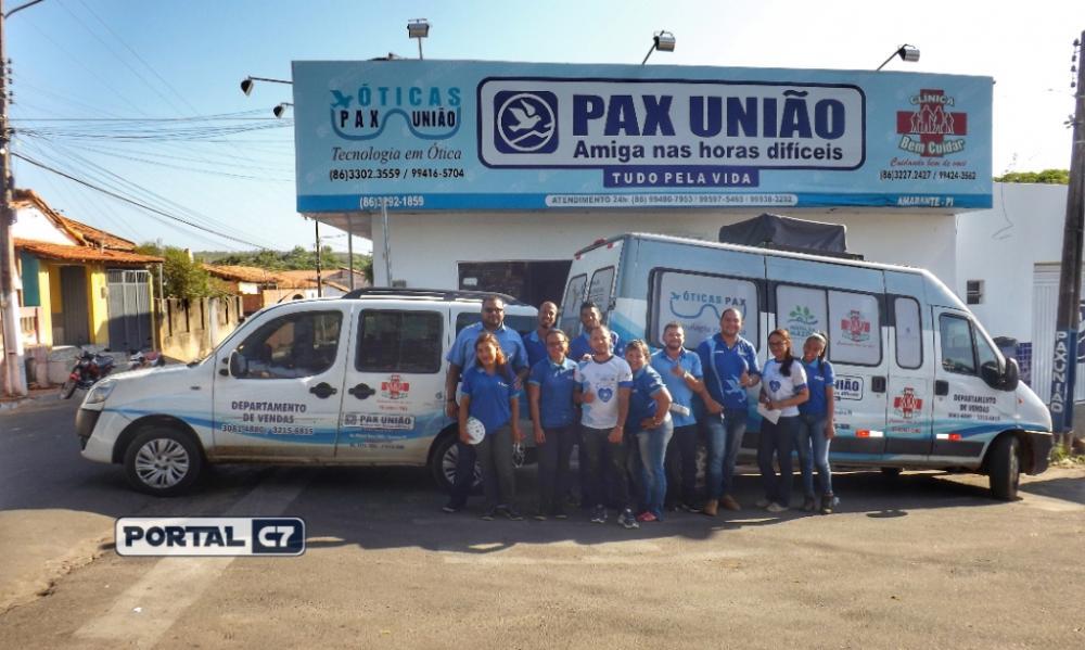 Filial da Pax União em Amarante