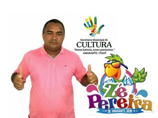 Secretário de Cultura Ronaldo Brandão