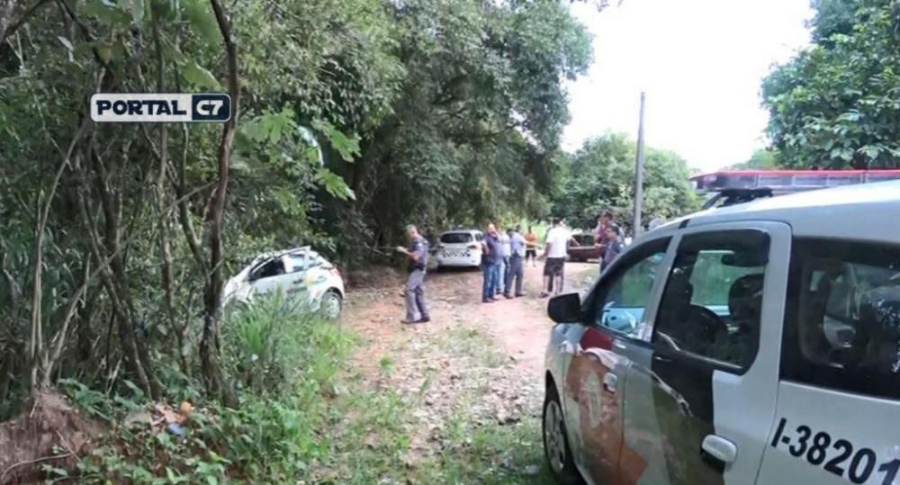 Prefeito de Ribeirão Bonito foi morto a tiros em estrada de terra na tarde de quinta-feira (26) — Foto: Reprodução/EPTV