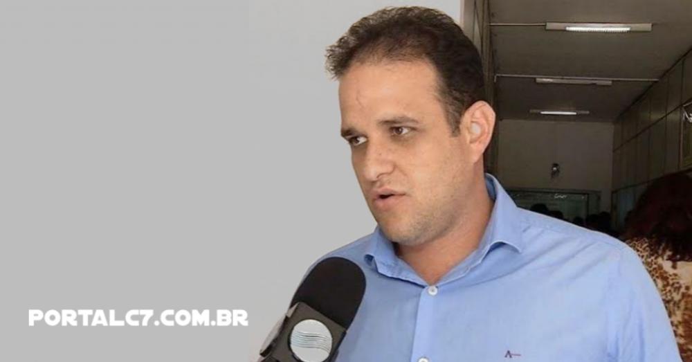 Prefeito de Amarante Diego Teixeira