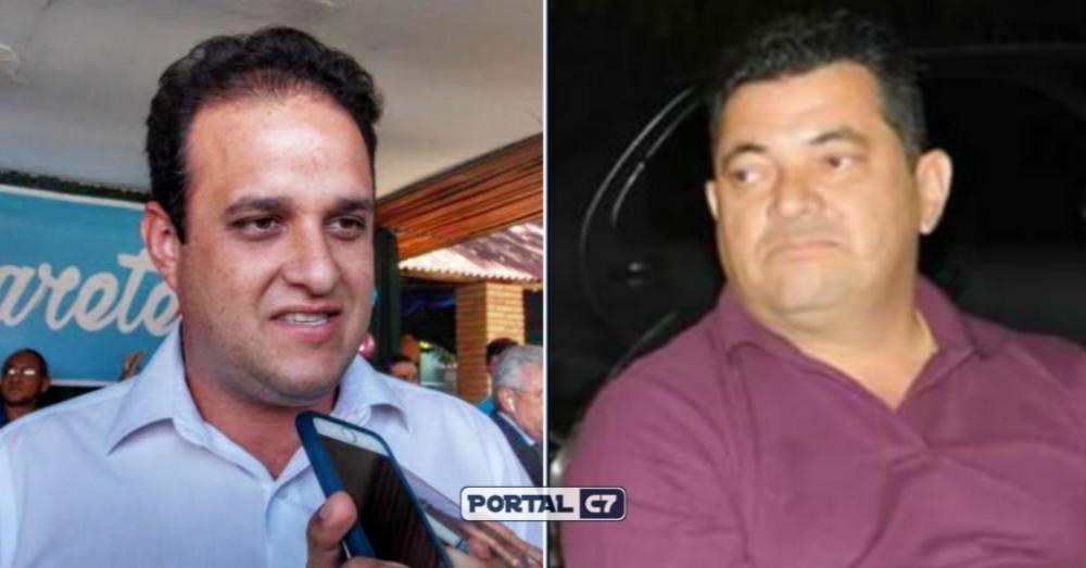Prefeito Diego Teixeira / Ex-prefeito Luiz Neto