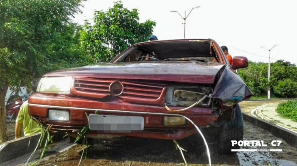 Veículo após ser resgatado (Imagem: Divulgação)