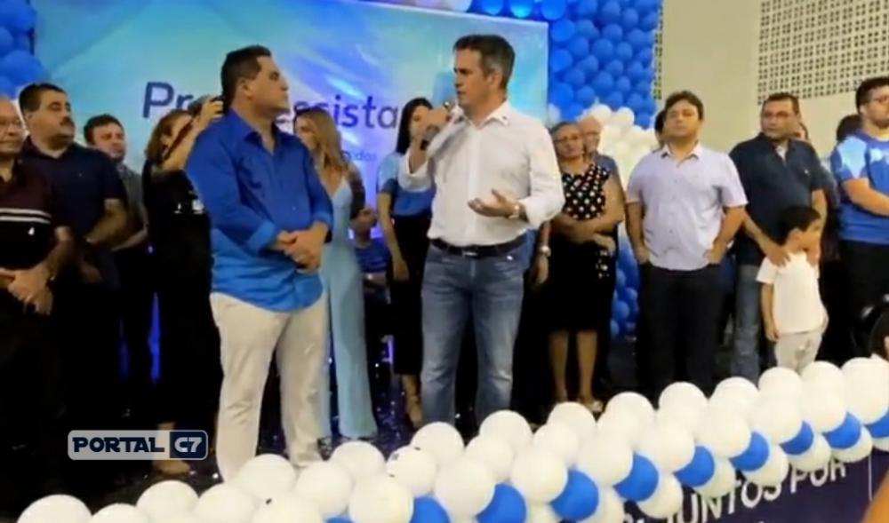 Senador participa de lançamento de pré-candidatura à prefeito em Demerval Lobão