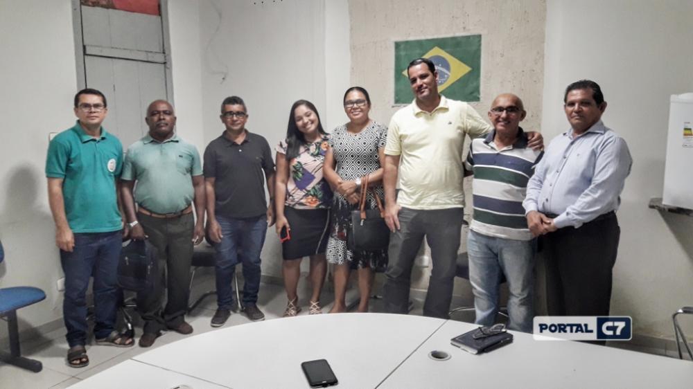 Pastores e líderes evangélicos de Amarante (Imagens: Diogo Costa)