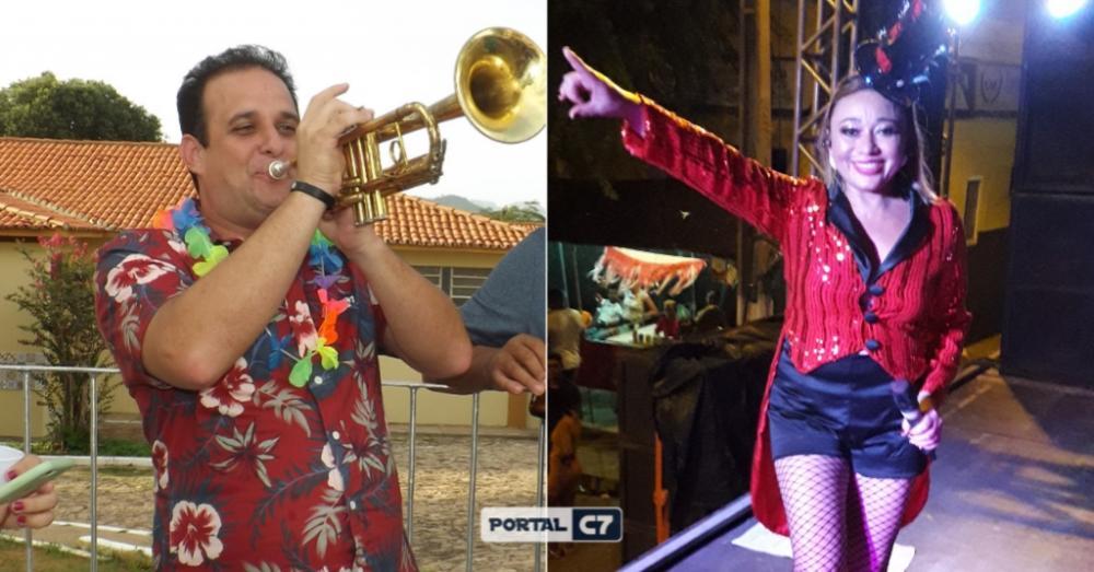 Prefeito Diego Teixeira/Cantora Lene Alves