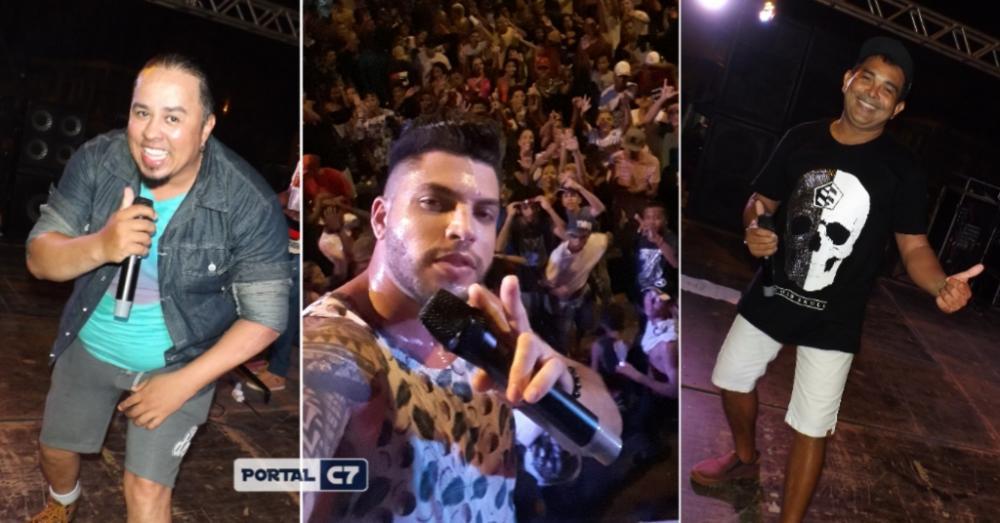 Kaio Stronda e outras atrações animaram a 3º noite de Carnaval em Amarante