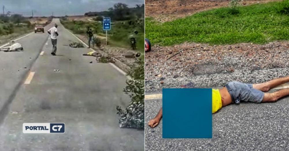 Tratorista morre após colidir moto com um animal em cidade do Piauí