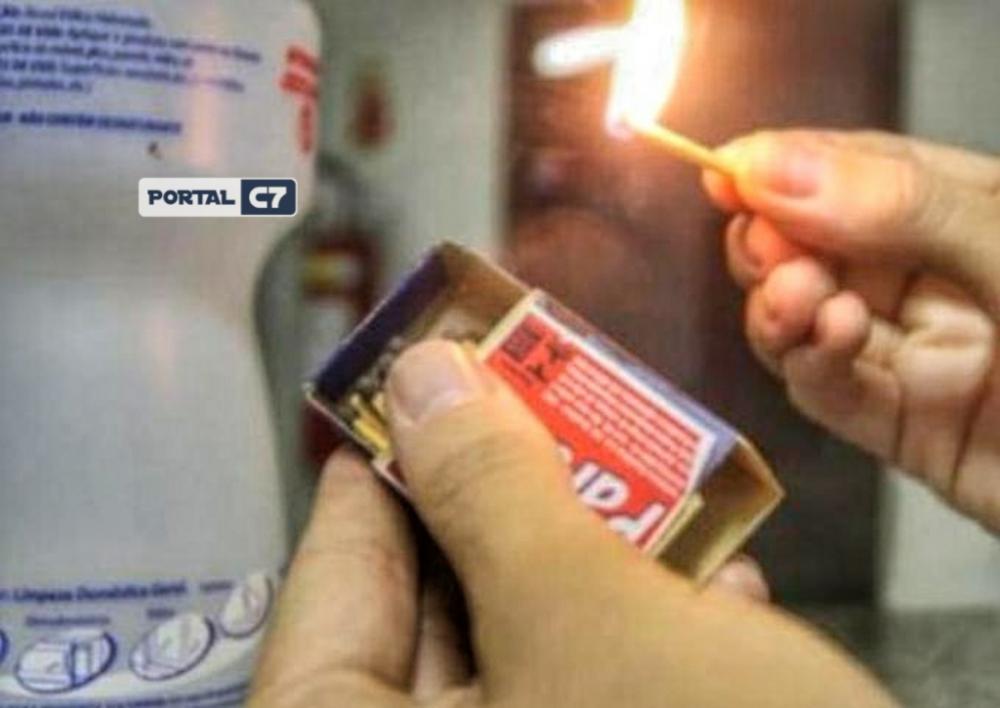Mulher coloca fogo nos testículos do marido após descobrir traição