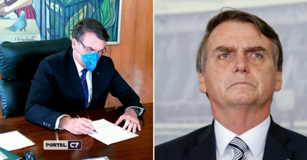 Presidente Jair Bolsonaro - Montagem: Portal C7