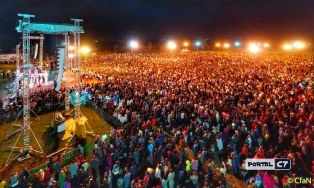 Cruzada no Quênia. (Foto: Reprodução / Facebook)