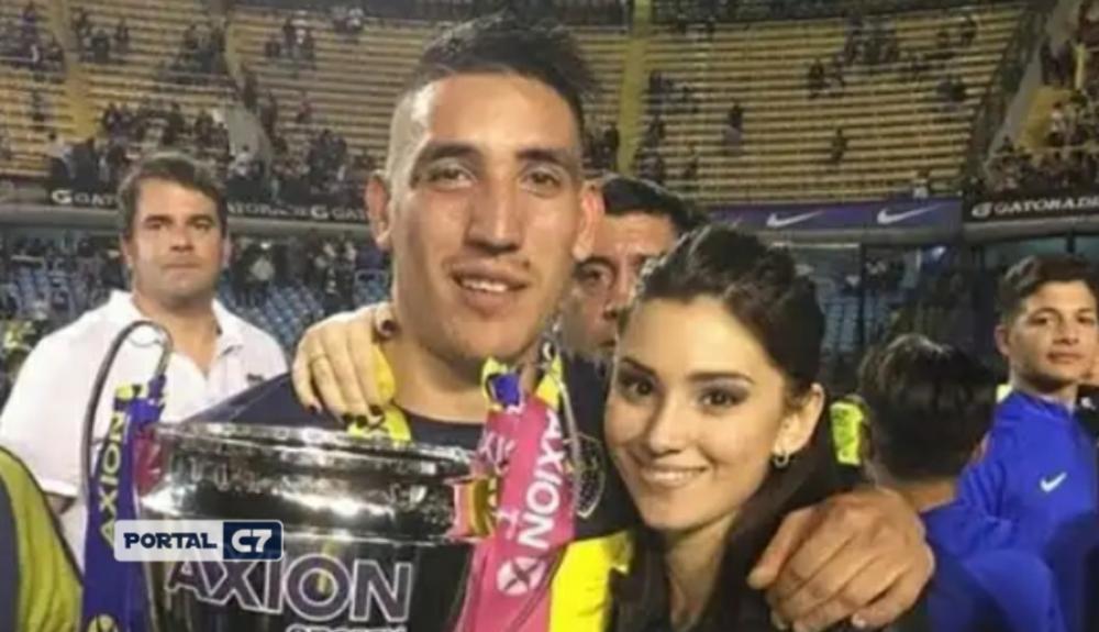 Namorada de Centurión, ex-São Paulo, morre em acidente de carro na Argentina. Foto: Reprodução/Instagram