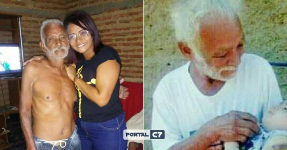 Senhor José Oliveira e a filha Fernanda Silva / Montagem: Diogo Costa