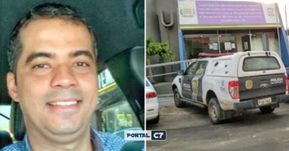 Delegado sofre tentativa de homicídio na frente da Central de Flagrantes de Floriano