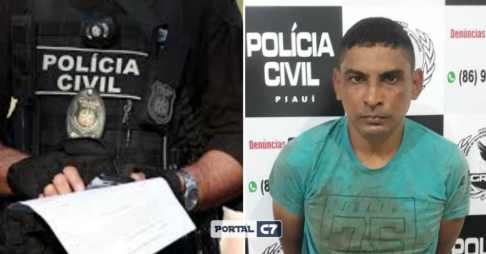 Foto: Reprodução Polícia Civil / Montagem: Portal C7