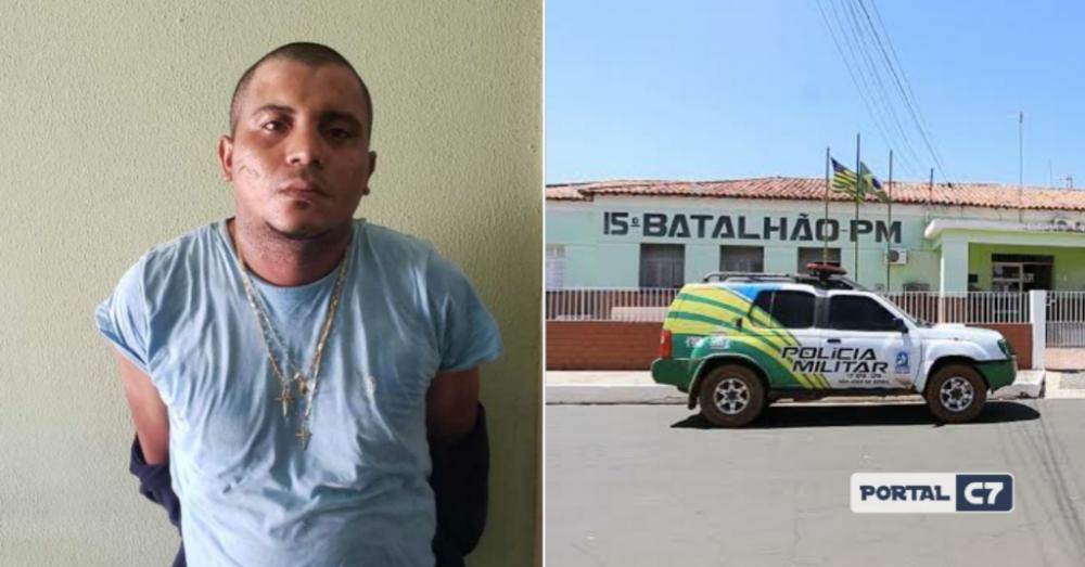 Bandido é morto com um tiro no peito ao confrontar policiais em cidade do Piauí