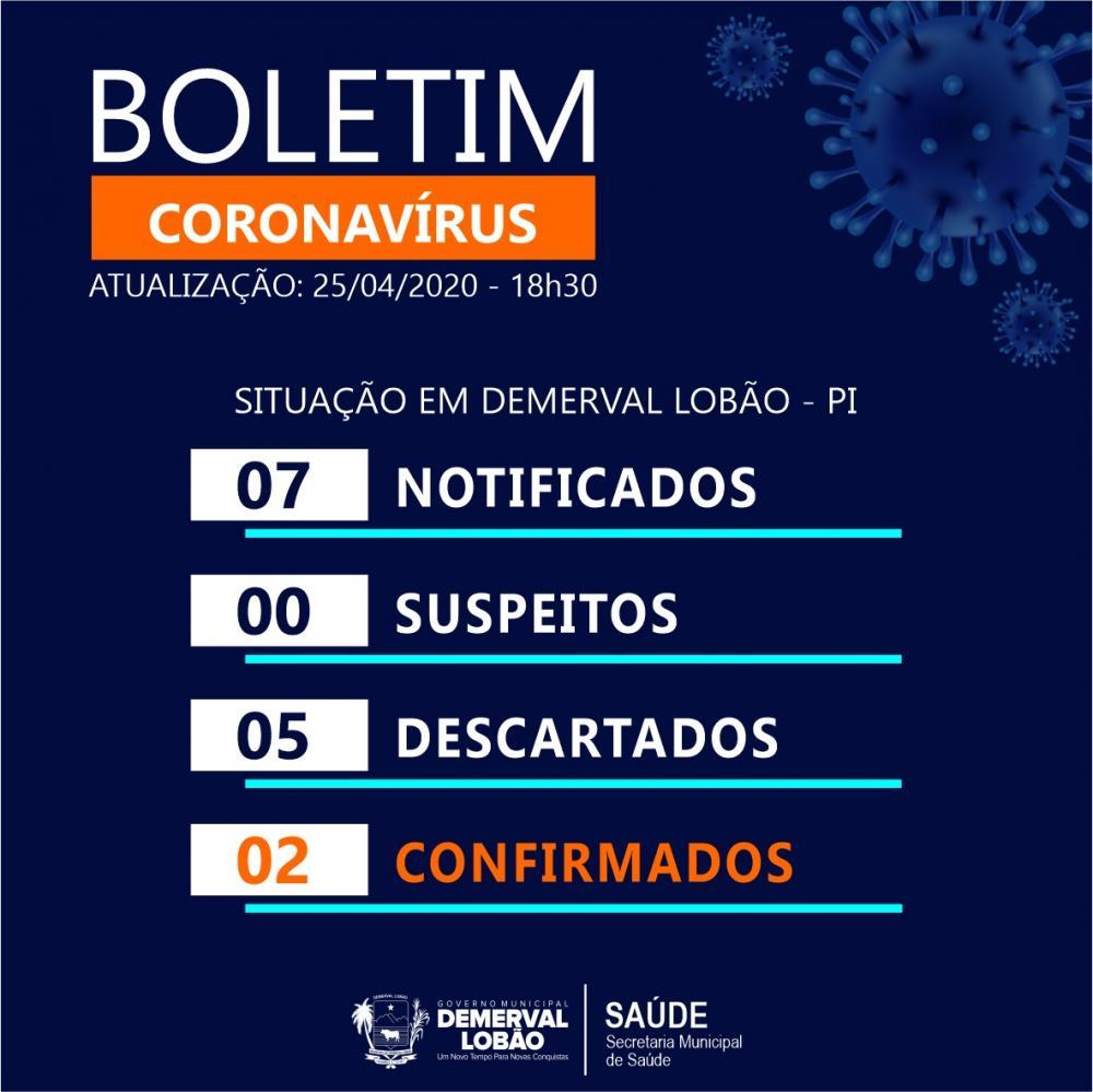 Demerval Lobão tem segundo caso de Covid-19 confirmado