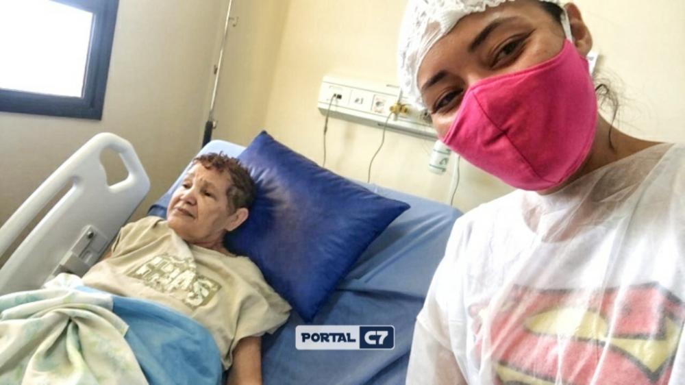 Idosa foi encontrada viva no hospital - Foto: Reprodução