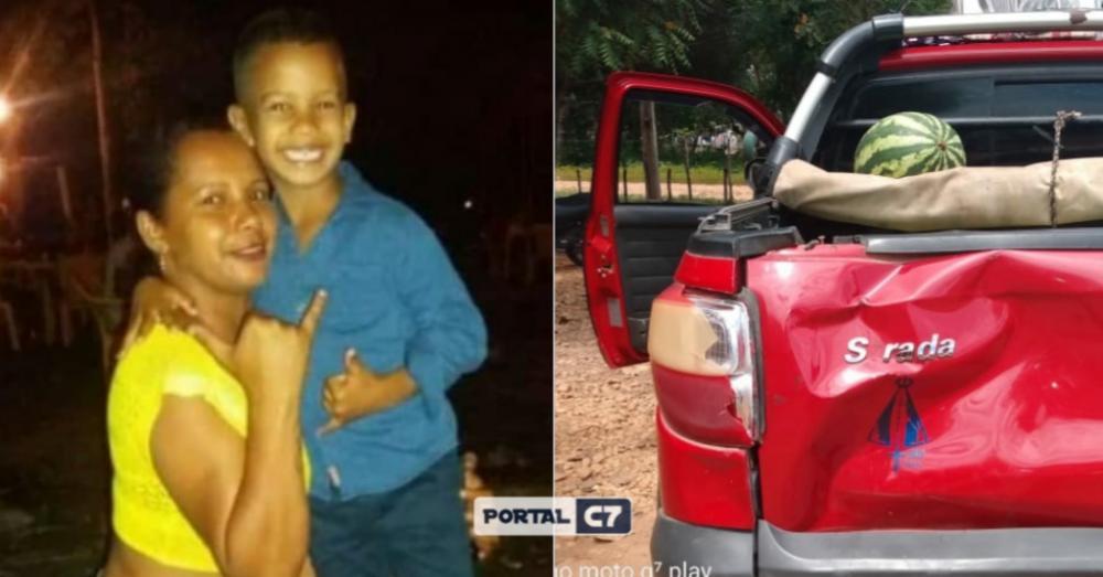 Mãe e filho de Palmeirais morrem em acidente envolvendo carro de Amarante