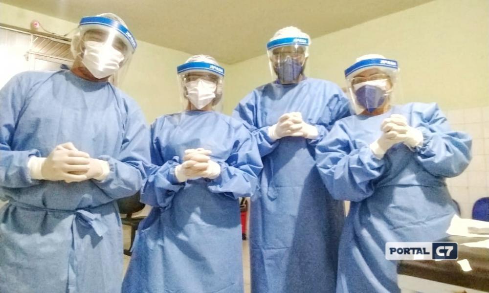 Piauí : Mais de 280 profissionais de saúde estão infectados por Covid-19
