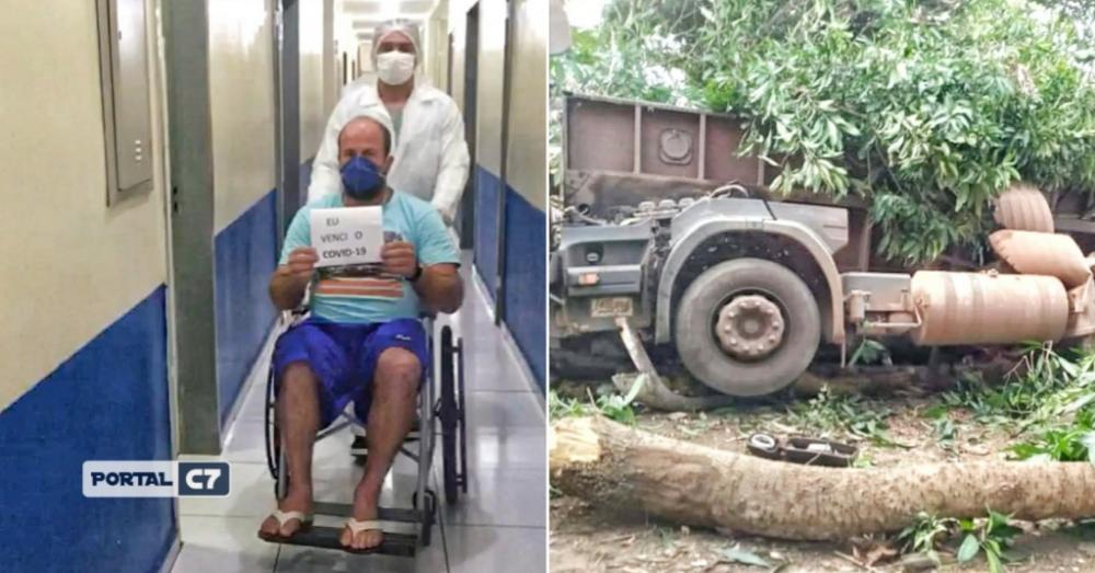 Após se recuperar da Covid-19 no Piauí, paciente morre em acidente no Maranhão