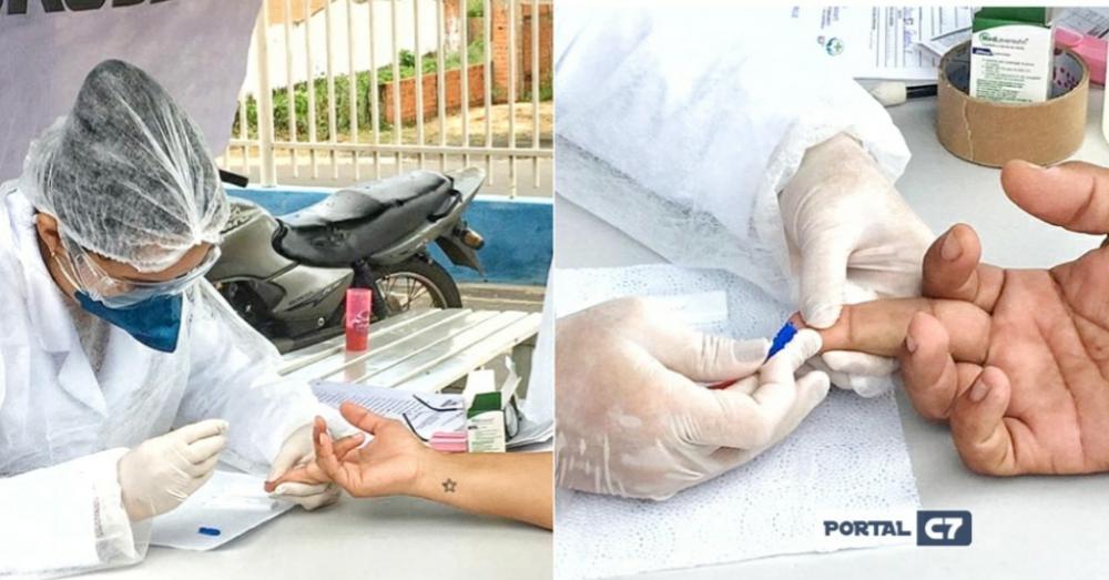 Covid-19: Prefeitura de Amarante inicia testagem nos profissionais da Saúde