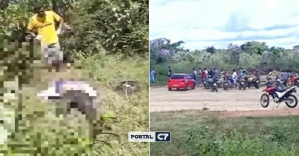 Corpo de homem de 45 anos é encontrado com tiro na nuca em Demerval Lobão