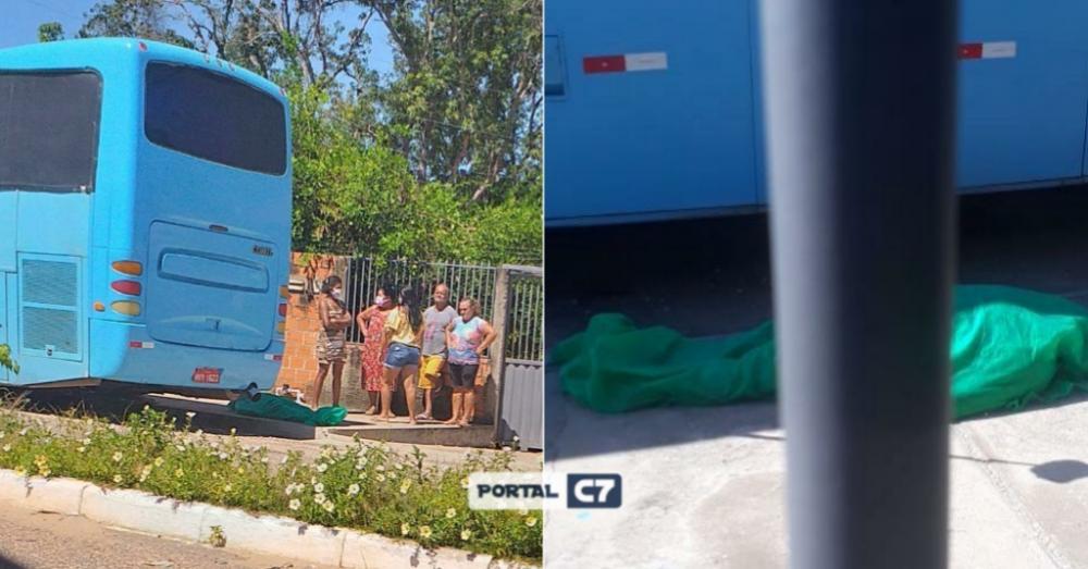 Mulher morre na porta de casa e família leva corpo ao IML de Teresina após demora
