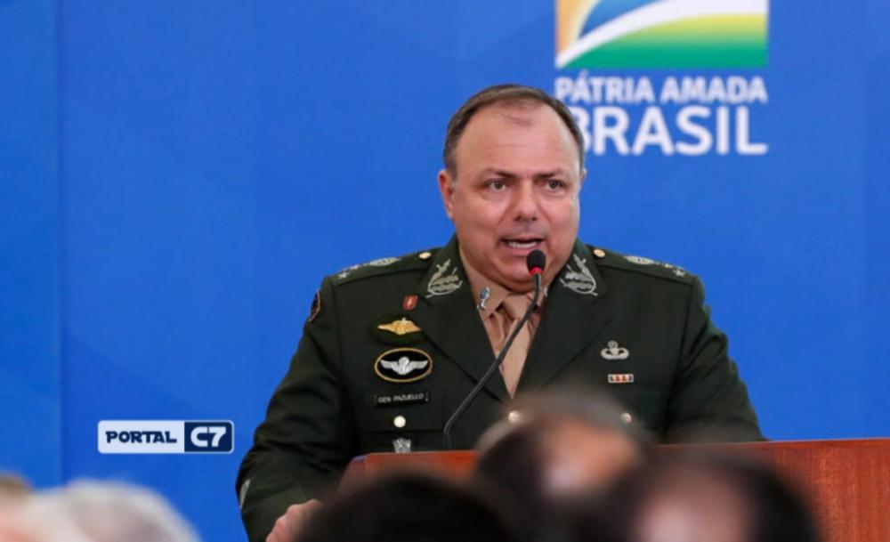 General Eduardo Pazuello - Foto: PR/Anderson Riedel