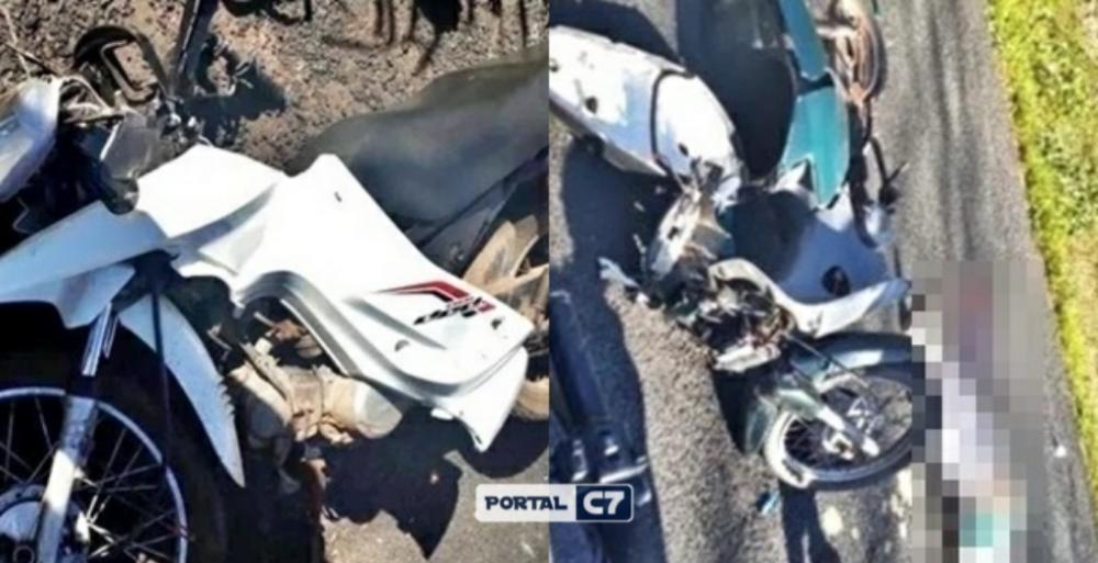 Grave acidente entre motos deixa uma vitima fatal na BR-222 no Piauí