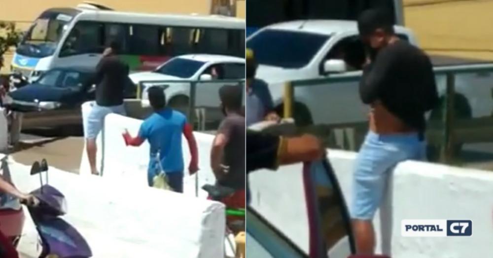 Pai tenta se jogar da ponte por não ter condições de comprar comida para os filhos no Maranhão