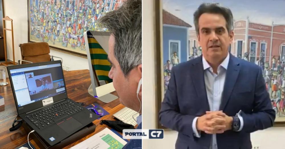 Em videoconferência com Bolsonaro, Ciro pede 'mutirão de perfuração de poços' no Piauí