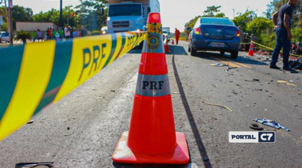 Mecânico morre ao ser atropelado enquanto consertava ônibus na BR-316 do Piauí