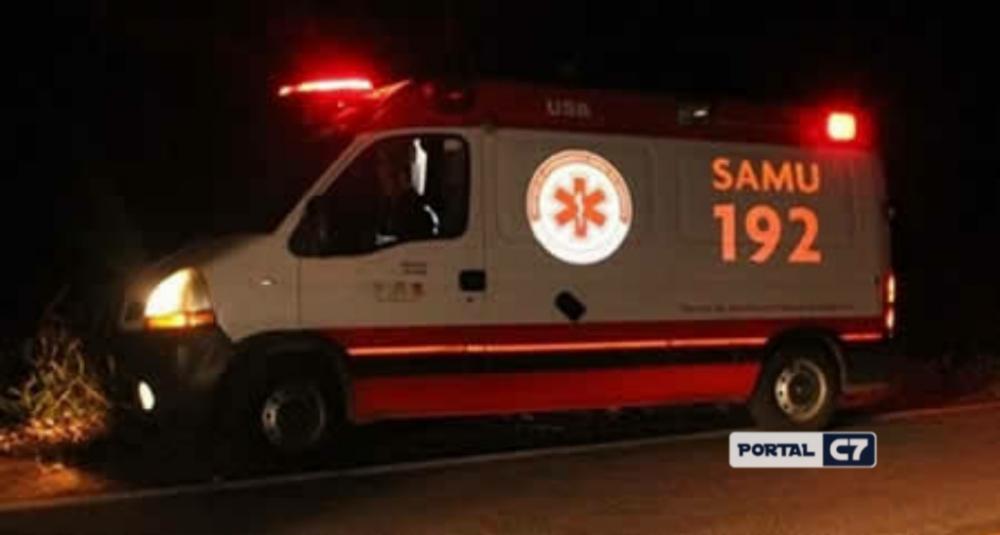 Jovem de 18 anos fica ferida após sofrer acidente de moto em Regeneração