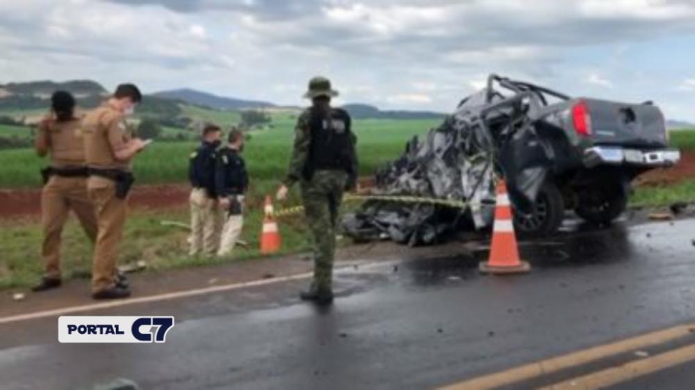 Homem mata pai de 82 anos a facadas, foge de carro e morre em acidente na BR-163