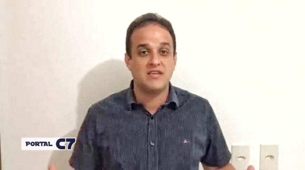 Prefeito Diego Teixeira vai fechar comércio aos finais de semana em Amarante